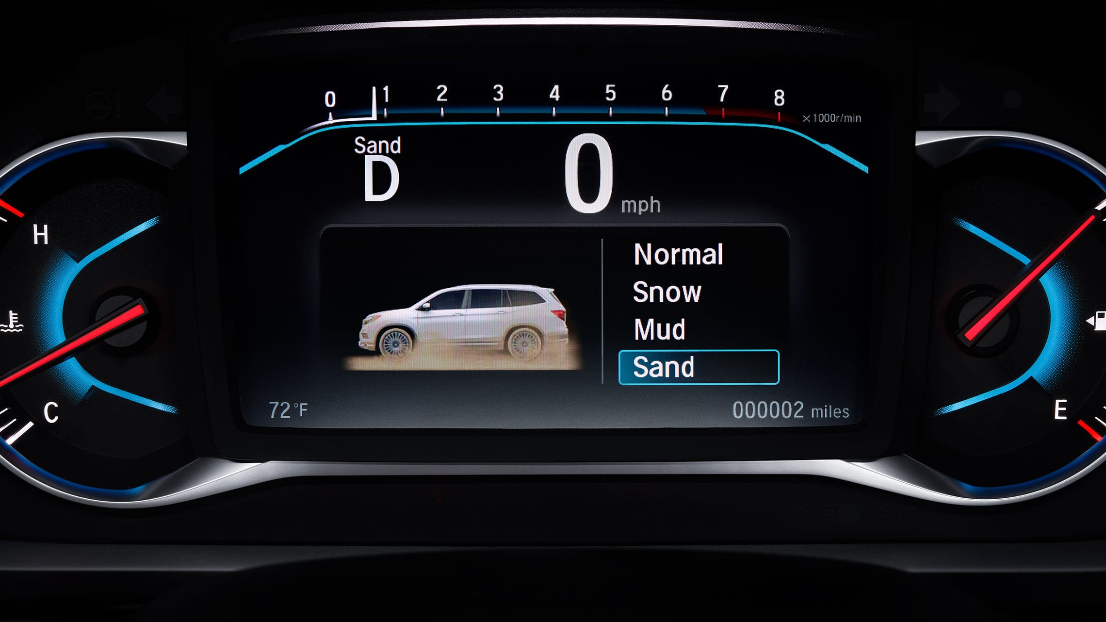 Intelligent Traction Management detail in 2020 Honda Pilot.